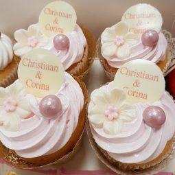 Cupcake met logo