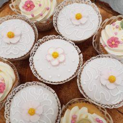 Cupcake met wrap