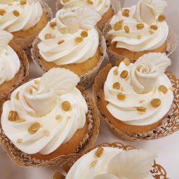 Cupcake goud