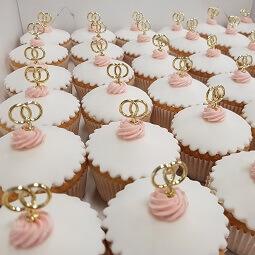 Cupcake bruiloft