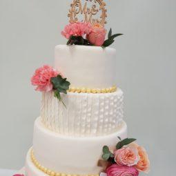 Bruidstaart stapel