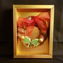 Chocolade kerstkrans €9,95