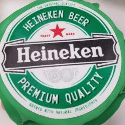 Heineken taart