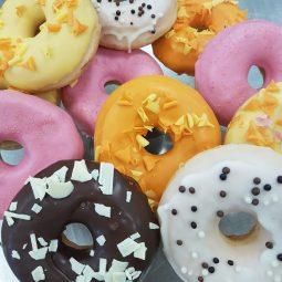 Donut felle kleuren