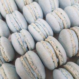 Macaron blauw