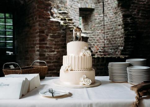 Doe inspiratie op voor jullie bruidstaart